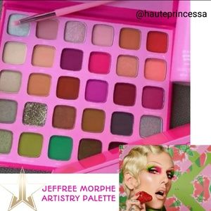 💮Morphe x Jeffree Star Artistry palette New